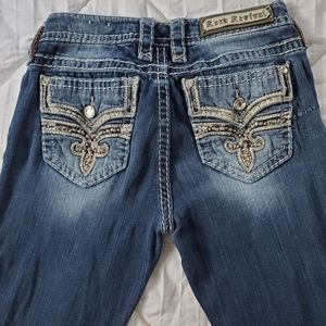 Rock revival straight jeans size 28